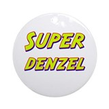 Super denzel Ornament (Round)