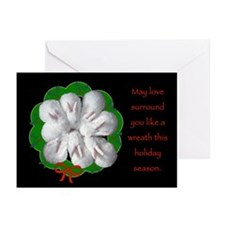 Baby Bunnies Holiday Wreath Cards (Pk Of 10)