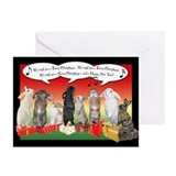 Singing Bunnies Christmas Cards (Pk of 20)