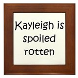 Unique Kayleigh Framed Tile