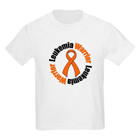 Leukemia Warrior Ribbon Kids Light T-Shirt