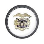 Security Officer Wall Clock