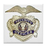 Security Officer Tile Coaster