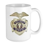 Security Officer Large Mug