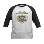 Security Officer Kids Baseball Jersey