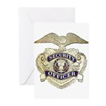 Security Officer Greeting Cards (Pk of 10)