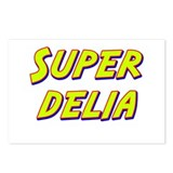 Super delia Postcards (Package of 8)