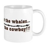 Forget the whales Small Mug