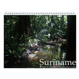 Amazon Rainforest of Suriname Wall Calendar