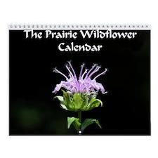 Prairie Wildflower Wall Calendar