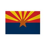 Arizona Flag Rectangle Magnet (10 pack)