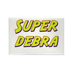 Super debra Rectangle Magnet