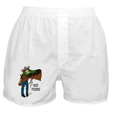 Girl and Horse - western Boxer Shorts