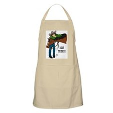 Girl and Horse - western BBQ Apron
