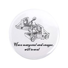 "Cute Onager 3.5"" Button"
