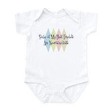 Neuroscientists Friends Infant Bodysuit