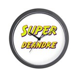 Super deandre Wall Clock