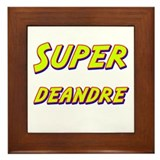 Super deandre Framed Tile