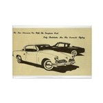 Two '53 Studebakers on Rectangle Magnet (10 pack)