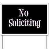 Unique Solicitors Yard Sign