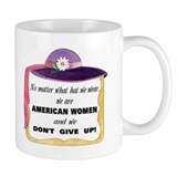 American Women Can! Coffee Mug