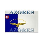 Azores Flag Rectangle Magnet (100 pack)