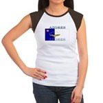 Azores Flag Women's Cap Sleeve T-Shirt