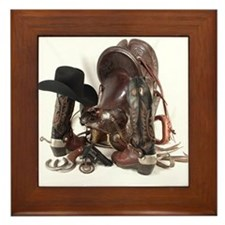 Unique Wild west Framed Tile
