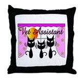 Veterinarian Throw Pillow