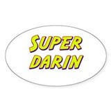 Super darin Oval Decal