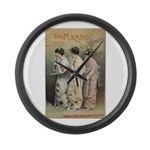 The Mikado Large Wall Clock