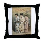 The Mikado Throw Pillow