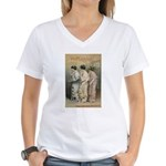 The Mikado Women's V-Neck T-Shirt