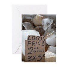 Coconut Greeting Cards (Pk of 10)