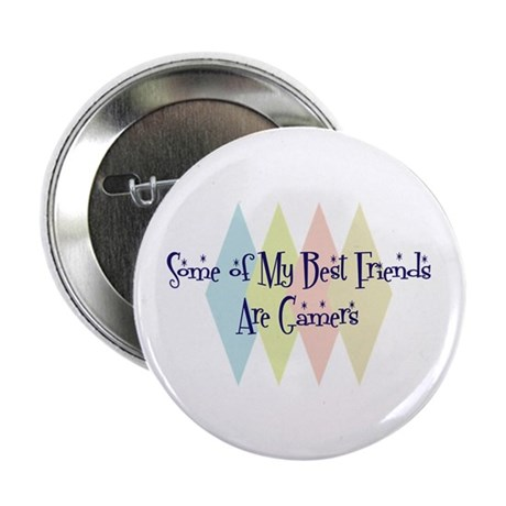 "Gamers Friends 2.25"" Button (100 pack)"