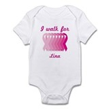 I walk for Lina Onesie