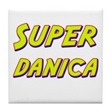 Super danica Tile Coaster