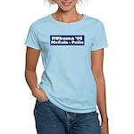 NObama - Blue & White Women's Light T-Shirt