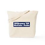NObama - Blue & White Tote Bag