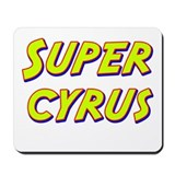 Super cyrus Mousepad