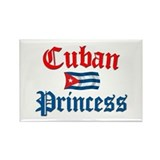 Cuban Princess II Rectangle Magnet
