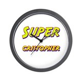 Super cristopher Wall Clock