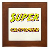 Super cristopher Framed Tile