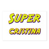 Super cristina Postcards (Package of 8)