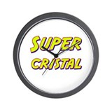 Super cristal Wall Clock