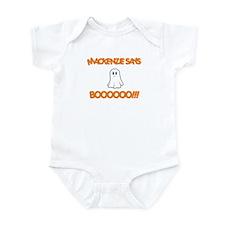 Mackenzie Says Boo Infant Bodysuit