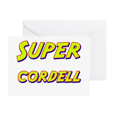 Super cordell Greeting Cards (Pk of 10)