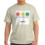 Restart Button Light T-Shirt