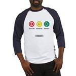 Restart Button Baseball Jersey