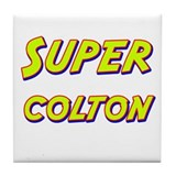 Super colton Tile Coaster